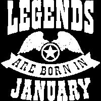 Legend Born in January