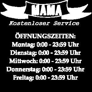 Mama Öffnungszeiten