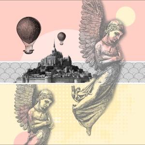 Anges au Mont Saint Michel