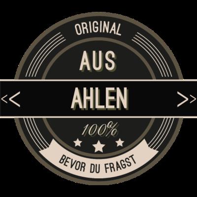 Original aus Aachen 100% - Original aus Ahlen 100% - stätte,stadt,region,heimat,Landschaft,Kreis,Ahlen
