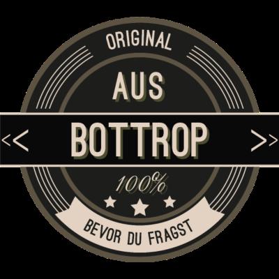 Original aus Bottrop 100% - Original aus Bottrop 100% - stätte,stadt,region,heimat,Landschaft,Kreis,Bottrop