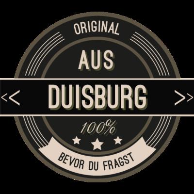 Original aus Duisburg 100% - Original aus Duisburg  100% - stätte,stadt,region,heimat,Landschaft,Kreis,Duisburg