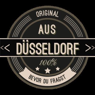 Original aus Düsseldorf 100% - Original aus Düsseldorf 100% - stätte,stadt,region,heimat,Landschaft,Kreis,Düsseldorf