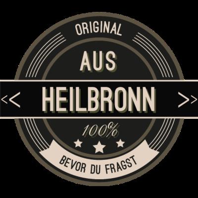 Original aus Heilbronn 100% - Original aus Heilbronn 100% - stätte,stadt,region,heimat,Landschaft,Kreis,Heilbronn