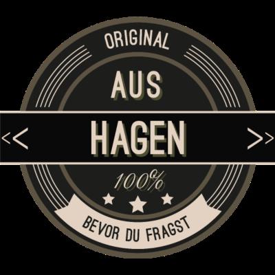 Original aus Hagen 100% - Original aus Hagen 100% - stätte,stadt,region,heimat,Landschaft,Kreis,Hagen