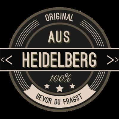 Original aus Heidelberg 100% - Original aus Heidelberg 100% - stätte,stadt,region,heimat,Landschaft,Kreis,Heidelberg