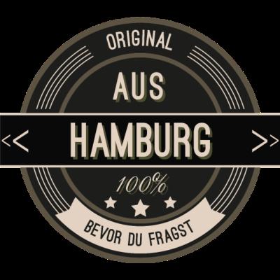 Original aus Hamburg 100% - Original aus Hamburg 100% - stätte,stadt,region,heimat,Landschaft,Kreis,Hamburg