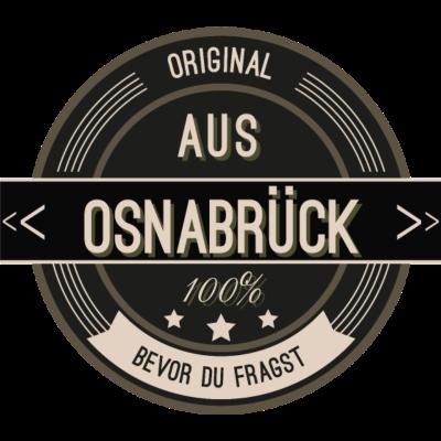 Original aus Osnabrück 100% - Original aus Osnabrück  100% - stätte,stadt,region,heimat,Osnabrück,Landschaft,Kreis