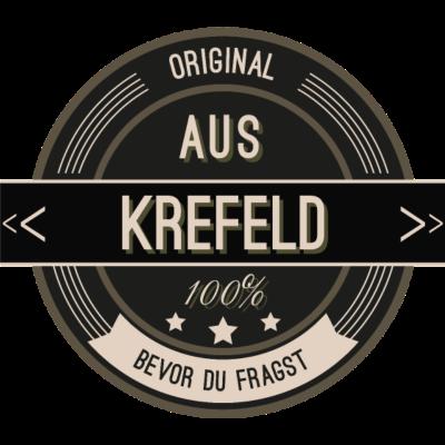 Original aus Krefeld 100% - Original aus Krefeld 100% - stätte,stadt,region,heimat,Landschaft,Kreis,Krefeld