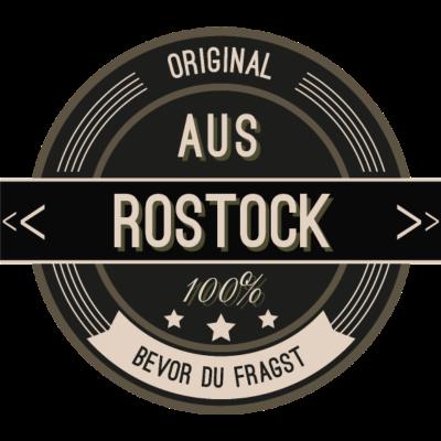 Original aus Rostock 100% - Original aus Rostock 100% - stätte,stadt,region,heimat,Rostock,Landschaft,Kreis