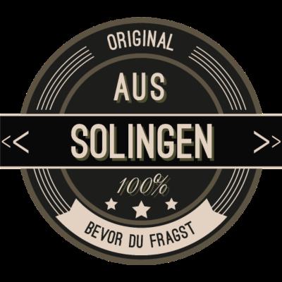Original aus Solingen 100% - Original aus Solingen  100% - stätte,stadt,region,heimat,Solingen,Landschaft,Kreis
