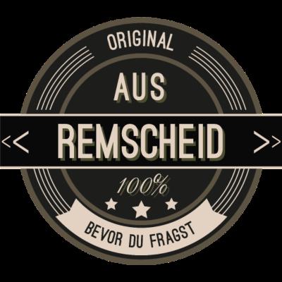 Original aus Remscheid 100% - Original aus Remscheid 100% - stätte,stadt,region,heimat,Remscheid,Landschaft,Kreis