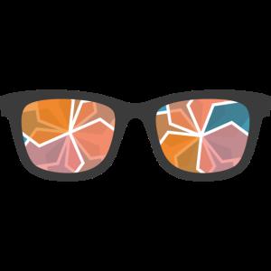 Farbe Gläser