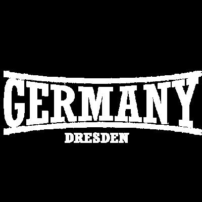 germany-Dresden-Weiß - Länderlogo mit Stadt. - weiß,germany,Dresden,Deutschland