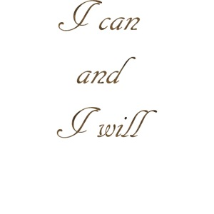 Je peux et je vais