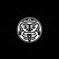 Inka/atzteken maske