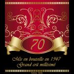 70 ans grand cru