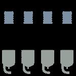 Inline 4 Sparkplugs