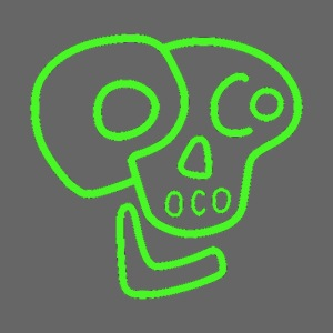 poco loco logo green