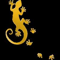 running gecko gold