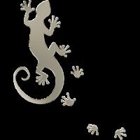running gecko silver