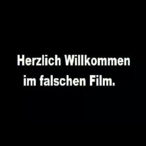 Willkommen im Falschen Film
