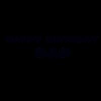 Herzlichen Glückwunsch zum Geburtstag, Papa