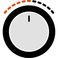Regler Lautstaerke Power Tuner Volume Control