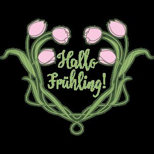 Art Nouveau Frühling