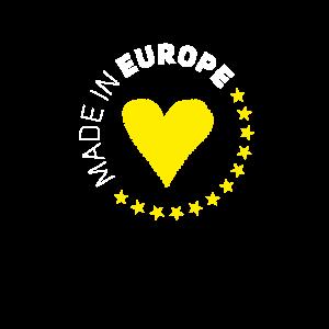 made in Europe love EU europa no brexit euro stern