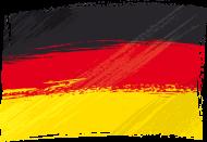 Fan-Shirt: Fahne, Flagge Deutschland