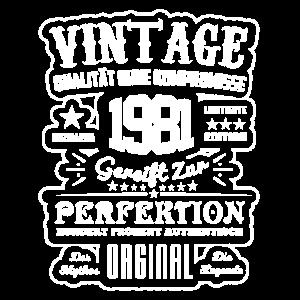 1981 - Gereift zur Perfektion