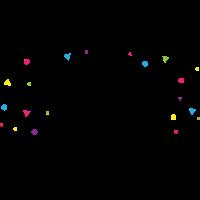 confetti colour