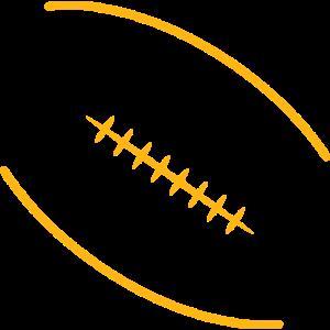 Football Logo gelb