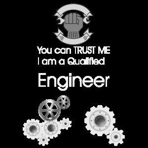 Ich bin ein Ingenieur-T-Shirt