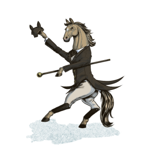Horse Dressage Dancer