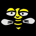 Bee happy wasp