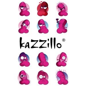 kazzillo emoticon e logo
