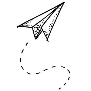 my tiny paper plane