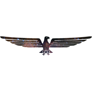 Adler Symbol Sternenbild Eagle Weltall Space Motiv
