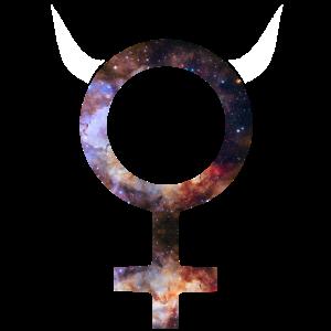 Venus Symbol Space weiblich Zeichen Frauen Mädchen