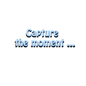capture the moment photographer`s slogan