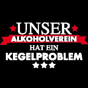 Kegelverein Alkoholproblem
