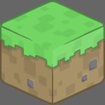 Diceño Minecrafteano Pasto Animado