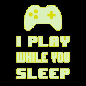 Gamers nicht schlafen