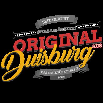 Original aus Duisburg - Original aus Duisburg - Duisburgerin,Duisburger,Duisburg