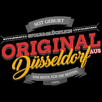 Original aus Düsseldorf - Original aus Düsseldorf - düsseldorferin,düsseldorfer,ddorf,NRW-Hauptstadt,Landeshauptstadt,Düsseldorf,D'dorf
