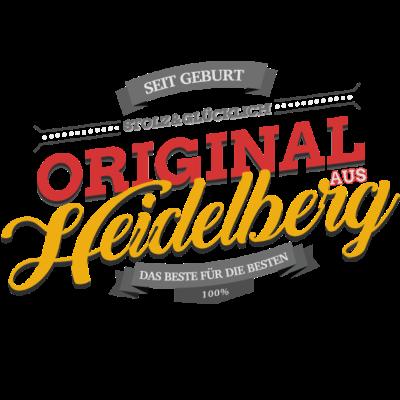Original aus Heidelberg - Original aus Heidelberg - Heidelbergerin,Heidelberger,Heidelberg