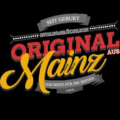 Original aus Mainz - Original aus Mainz - Mainzerin,Mainzer,Mainz,Goldenes Mainz