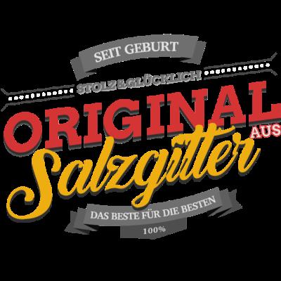 Original aus Salzgitter - Original aus Salzgitter - Salzgittererin,Salzgitterer,Salzgitter